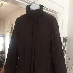 Brown Coat 💥Jones New York 💥Medium